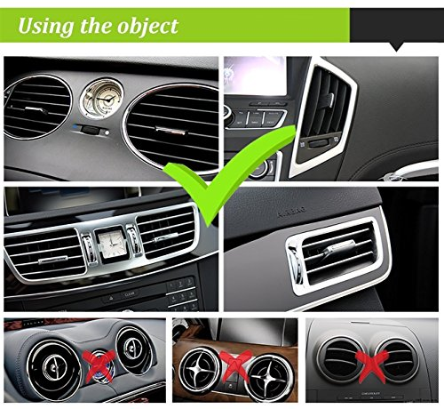 Beam Electronics Universal Smartphone Car Air Vent Mount Holder Cradle Compatible With IPhone X 8 8 Plus 7 7 Plus SE 6s 6 Plus 6 5s 5 4s 4 Samsung Galaxy S6 S5 S4 LG Nexus Sony Nokia And More