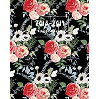 Academic Planner 2018-2019: Floral Cover, 12 Month Calendar Monthly Weekly Schedule, Planner August 2018-2019, Daily Writing Project Planner ... (Planner August 2018 - July 2019) (Volume 3)