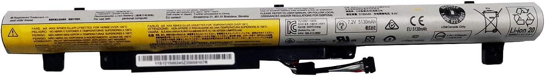 Dentsing L13S4E61 7.2V 41.6Wh/5800mAh Laptop Battery Compatible with Lenovo IdeaPad Flex 2-14 2-15 M50-70 Series Notebook L13L4E61 L13M4E61
