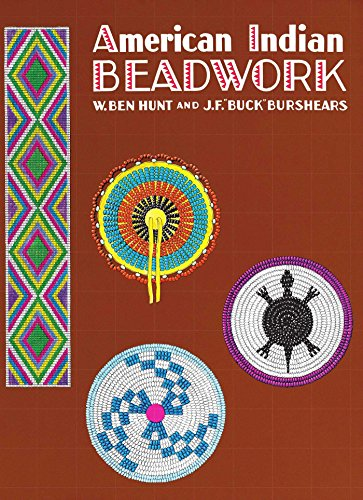American Indian Beadwork (Beadwork Books) - Vintage Costume Jewelry Making Supplies