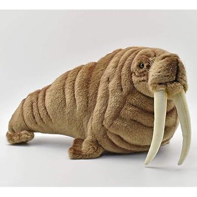 HANSA Walrus Plush: Toys & Games