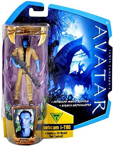 James Cameron's Avatar Movie 3 3/4 Inch Action Figure Avatar Jake Sully RDA ()
