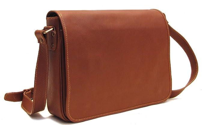 Amazon.com: Floto Toscana Italian Leather Messenger Bag: Floto ...