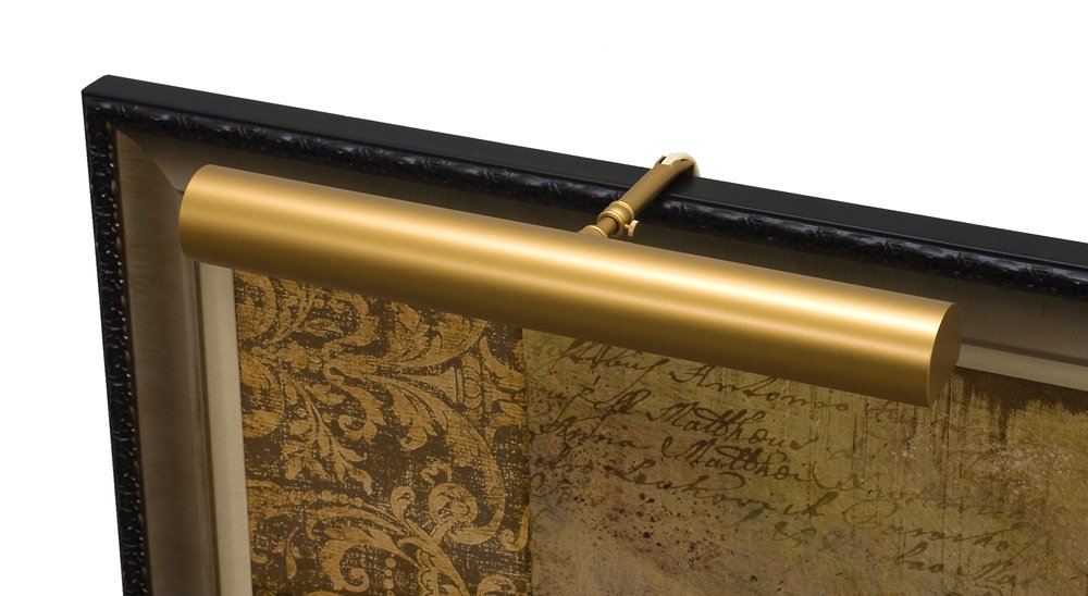 House of Troy C16-51-CA Contemporary CA Compliant Picture Light, 16'', Satin Brass by House of Troy