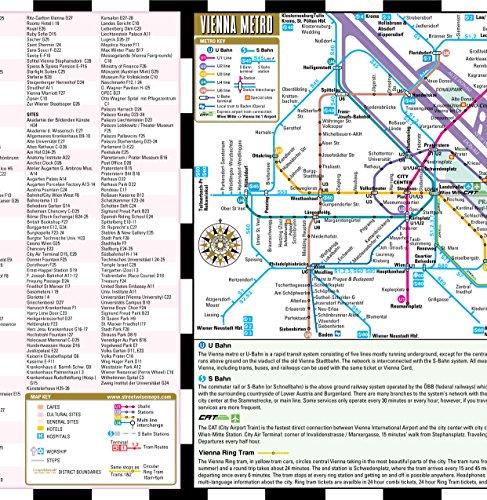 Streetwise Vienna Map Laminated City Center Street Map of Vienna