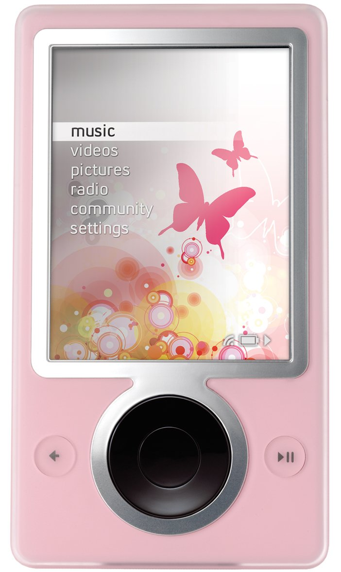 Zune 30 GB Digital Media Player (Pink) by Zune