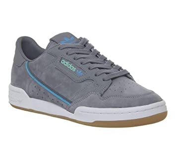 purchase cheap bba8f fcedb Adidas Originals X Tfl Continental 80 Garcon Baskets Mode Gris