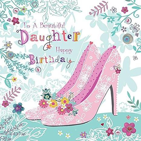 Impresionante zapatos con revestimiento de purpurina a una ...