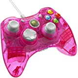 PDP Rock Candy Wired Controller for Xbox 360 - Pink Palooza