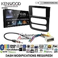 Volunteer Audio Kenwood DDX9904S Double Din Radio Install Kit with Apple CarPlay Android Auto Bluetooth Fits 2002-2005 Ram