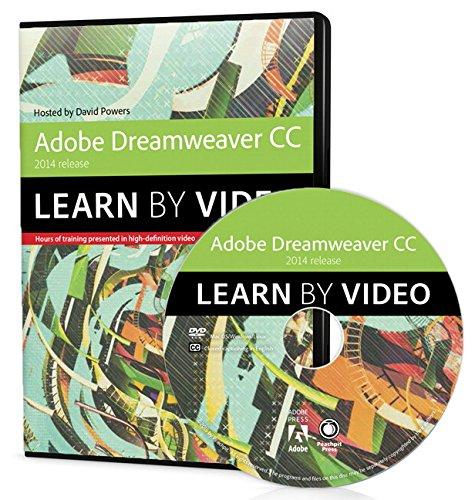 Peachpit Press Adobe Dreamweaver CC Learn by Video (2014 ...