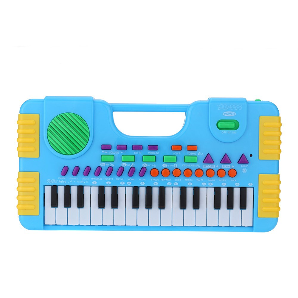 Andoer®31 Keys Multifunction Mini Electronic Keyboard Music Toy Educational Cartoon Electone Gift for Children Kids Babies Beginners