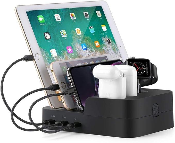 Amazon.com: Ocim Estación de carga USB de 6 puertos, varios ...