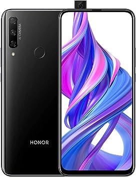 "HONOR 9X Smartphone Telefono Movil 4GB RAM 128GB ROM, Pantalla completa de 6.59"", 48MP AI Cámara triple + 16MP Cámara selfie emergente smartphones baratos, 4000mAh Dual Sim, Negro: Amazon.es: Electrónica"