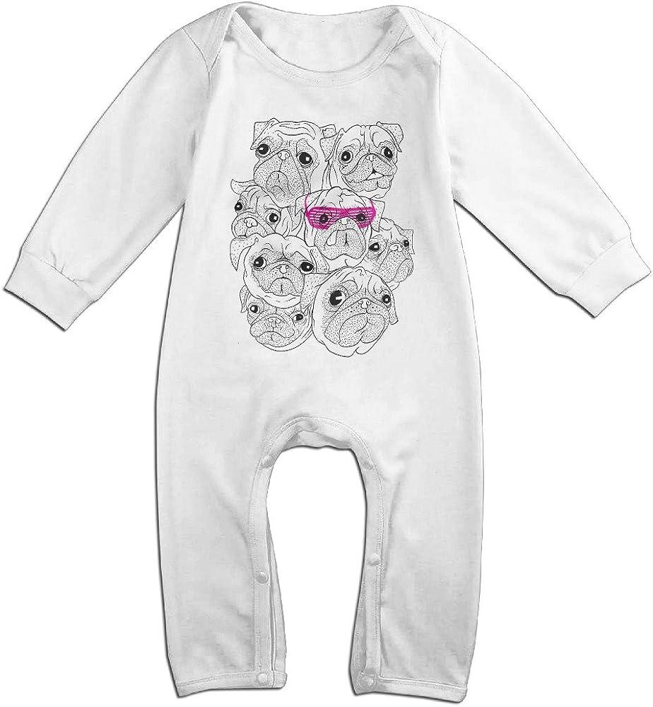 Alipapa Baby's Pugs (Pink) T Shirt