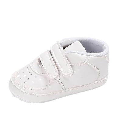 1dda3c8d7316e Chaussures de bébé Auxma Bébé garçon fille Toddler Soft Chaussures en cuir  unique Chaussures pour bébés