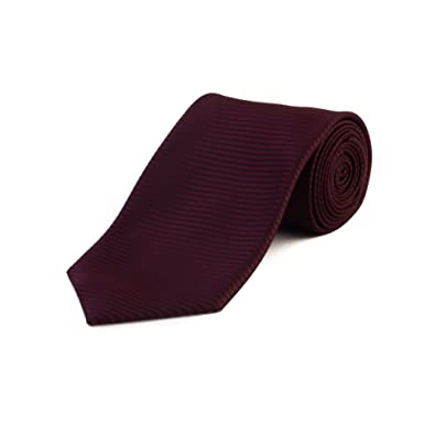 d305b9348d18 Tom Ford Men's Silk Textured Striped Tie Red: Tom Ford: Amazon.co.uk ...