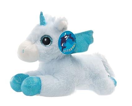 Amazon Com Wildream Blue Unicorn Sparkle Big Eyes 11 Unicorn