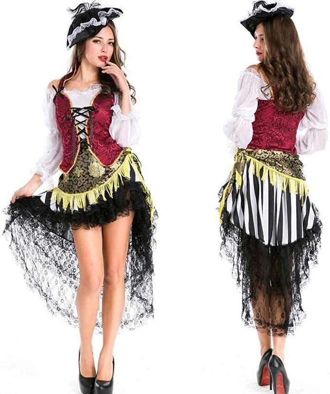 KAIDILA Masquerade Dress de la Mujer Halloween Disfraz Adulto ...