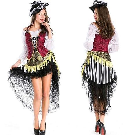 KAIDILA Masquerade Dress de la Mujer Halloween Disfraz ...