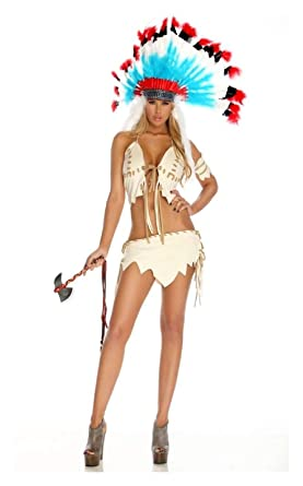 Amazon.com: Disfraz tribal indio para mujer, para adulto ...