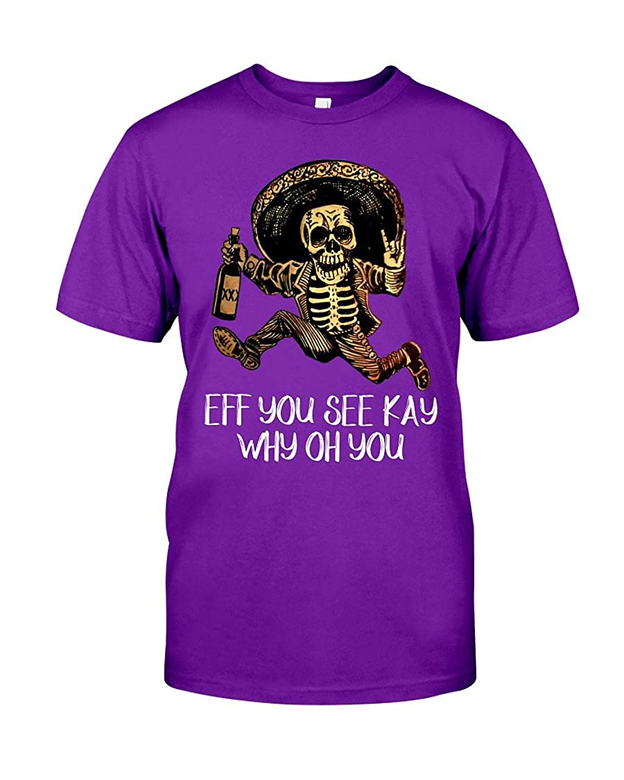 Luis Dubons You See Kay WHY OH You Classic T-Shirt Purple 2XL