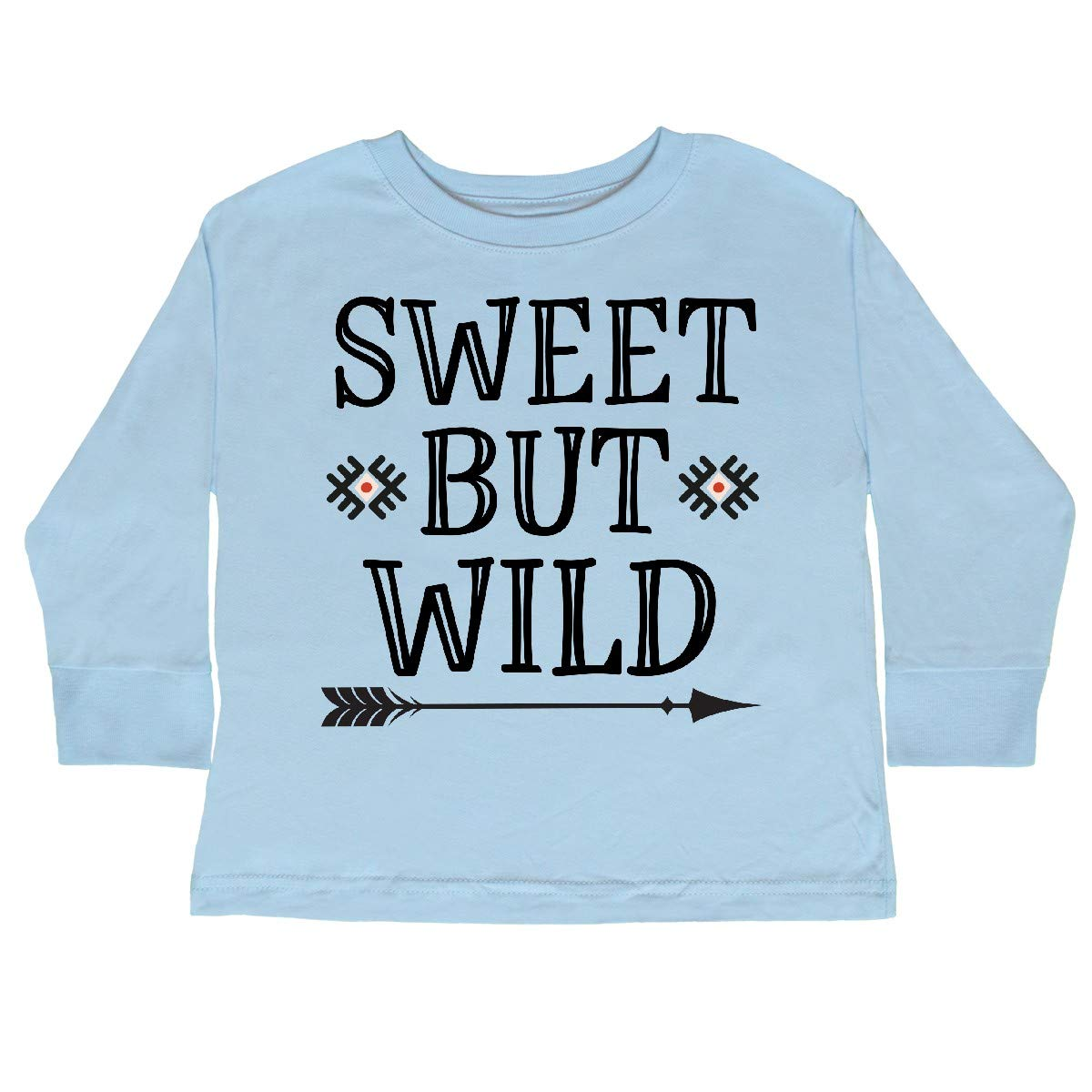 inktastic Girls Sweet But Wild Tribal Toddler Long Sleeve T-Shirt