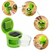 Eminceur Hachoir Presse-Ail Broyeur Presser Crusher Slicer Gadgets Alimentaire