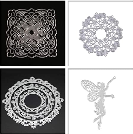 4pcs//set Leaves Metal Cutting Dies For Scrapbook DIY Album Card Making Decor SP