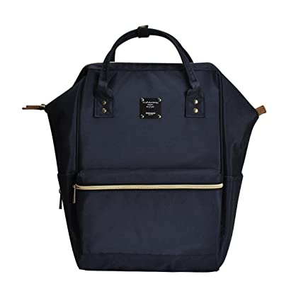 b6f80b8562f Bebamour Casual College Backpack Lightweight Travel Wide Open Back to  School Backpack for Women Men (Blue)  Amazon.co.uk  Baby
