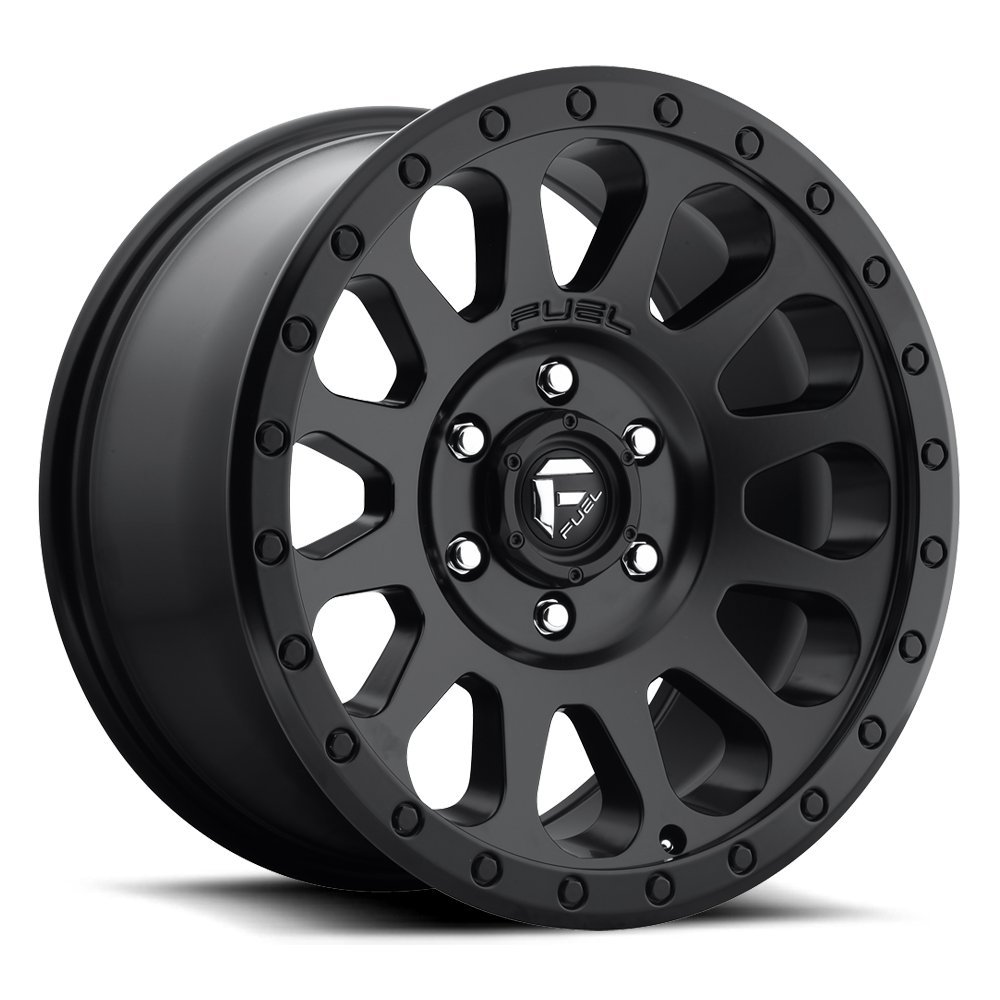 FUEL Off-Road: Vector (D579) - Matte Black; 18x9 Wheel Size, 5x150 Lug Pattern, 110.3mm Hub Bore, 01mm Off Set.