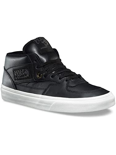 Vans Half Cab DX Mens Leather Black Gold Skateboarding Shoes (7.5 B(M) 6976c5f6e6