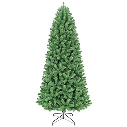 oncor 8 slim norway spruce artificial christmas tree unlit