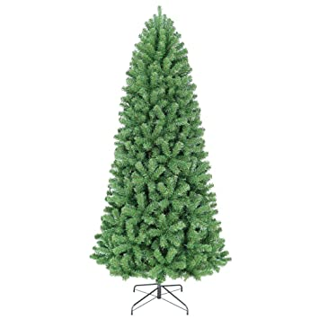 Oncor 8' Slim Norway Spruce Artificial Christmas Tree (Unlit) - Amazon.com: Oncor 8' Slim Norway Spruce Artificial Christmas Tree