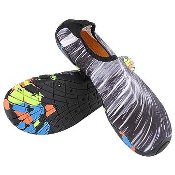 VGEBY1 Calzado para Adultos Junto al mar, Zapatos de Yoga de ...