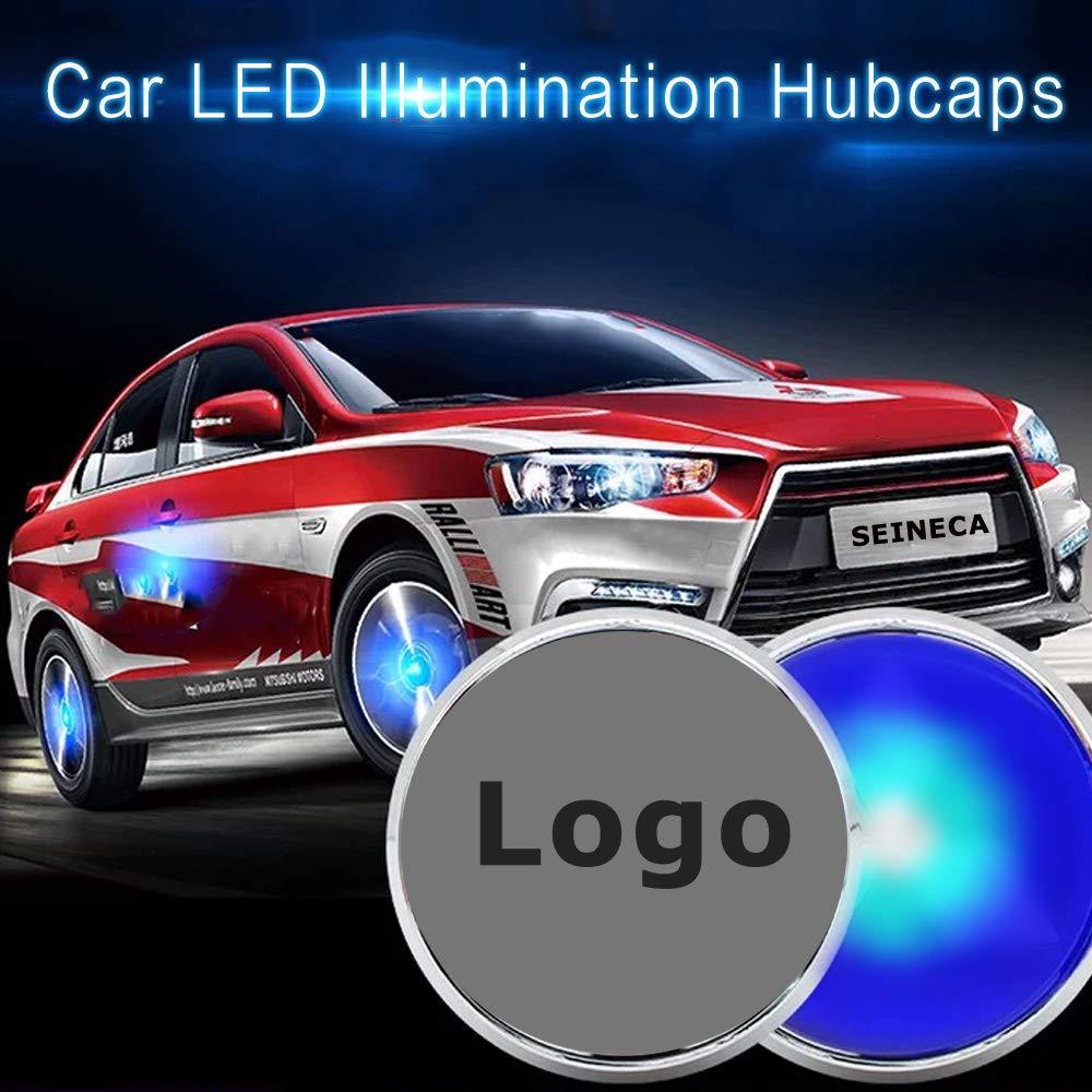 TT A7 A6 A8L 4 Pz LED Levitazione Magnetica Impermeabile Centro Coprimozzo Mozzo Copre Adatto per Audi A4L A5 A6L