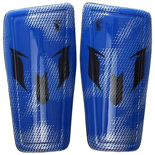 - adidas Performance Messi 10 Shin Guard, Prime Blue/Silver Metallic/Night Grey, X-Large