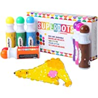 Dot Markers Bingo Dabbers, Non Toxic Kids Paint, Great Educational Toy, Perfect for Kids Art or use as Bingo Markers/Daubers (Classic Colours 8 Pack)
