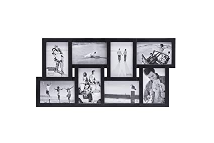 Amazoncom Malden 4x6 8 Opening Collage Matted Picture Frame