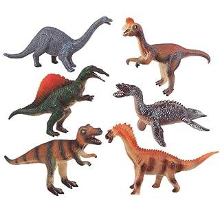 GIKMHYB Regalo Stabilito del Modello Animale di Simulazione del Silicone del Giocattolo del Dinosauro dei Bambini,E