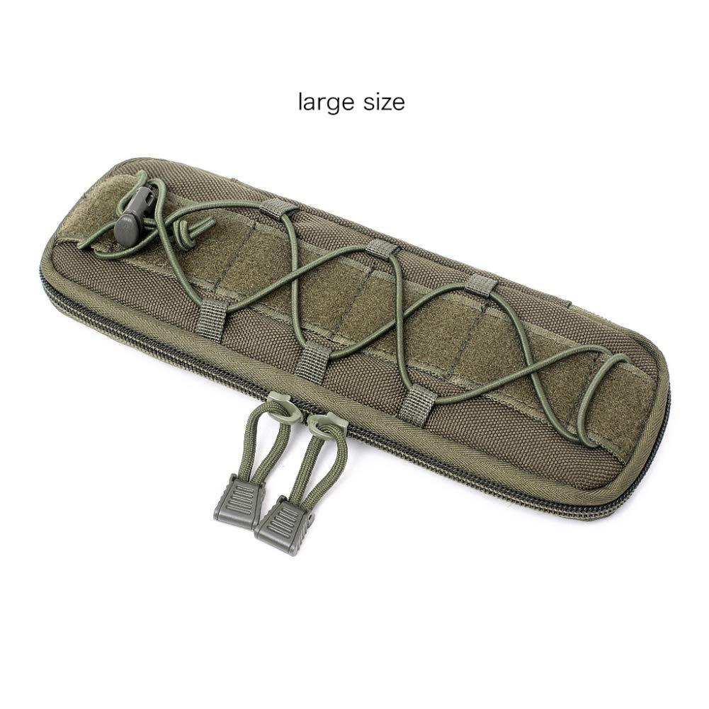 Balight cintur/ón t/áctico Molly Bolsa Molle Cintura Chaleco Bolsas EDC Mochila Bolsa de Accesorios para Senderismo Militar t/áctico Caza Camping