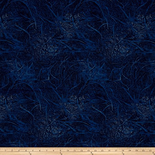 - Santee Print Works Branches Blender Denim Fabric by the Yard