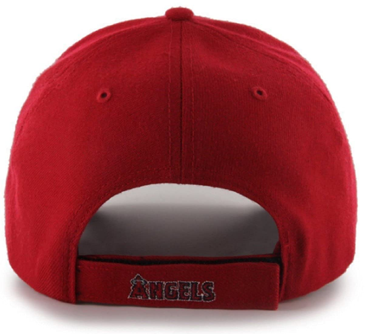 size 40 2dd87 546ac Amazon.com   47 Authentic Los Angeles Angels of Anaheim MVP - Home Color  Red  Clothing