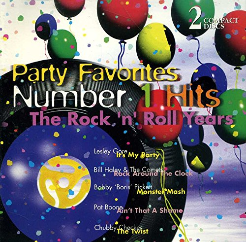Social gathering Favorites Number 1 Hits - The Rock 'N' Roll Years (2 Discs Set)