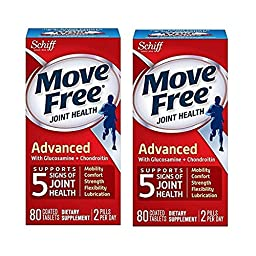 Schiff, Move Free Joint Health, 80 Coated Tablets (2 Pack)