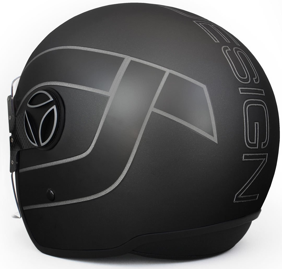 Momo 10140000035 Casco Moto, Arrow Black Matt, ML: Amazon.es: Coche y moto