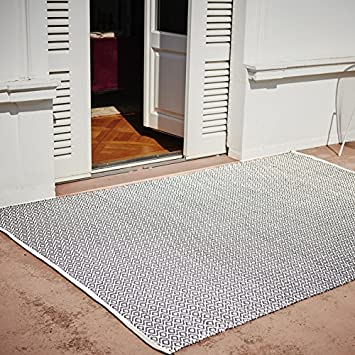 h 1 cm pad home design concept Uni Fußmatte und Badematte      sand 72 x 52 cm