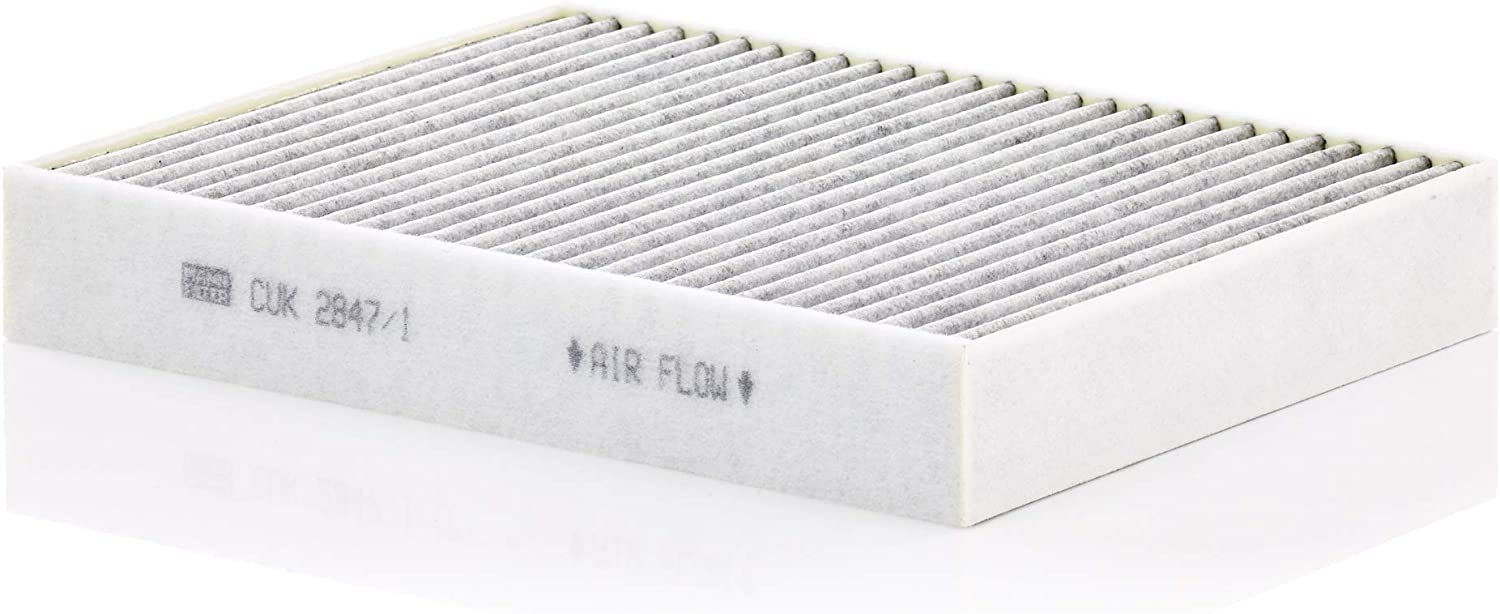 Mann-Filter CUK 2842 Cabin Filter With Activated Charcoal for select Audi//Porsche//Volkswagen models