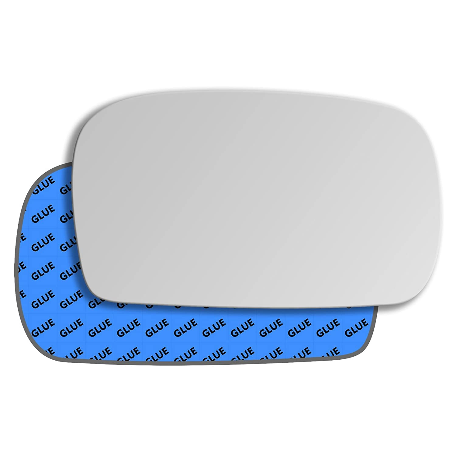 Hightecpl 121RS Right Driver Side Convex Door Wing Mirror Glass Channel Autoparts Limited