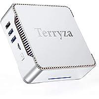 Mini PC Windows 10 Pro,Mini Computer Intel Celeron J4125 Processor(Up to 2.70 GHz),8GB RAM 128GB ROM Micro Desktop…